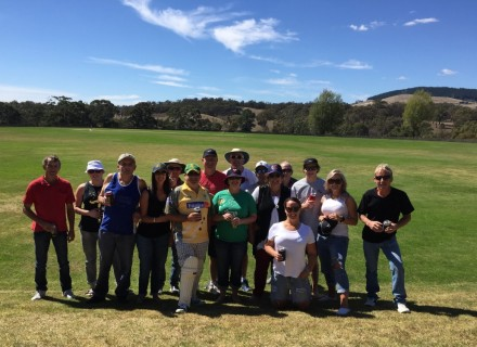 Great day for a hit of cricket!